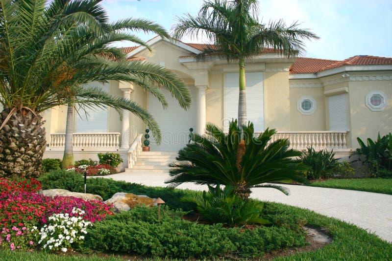 Casa della prova di uragano immagini stock