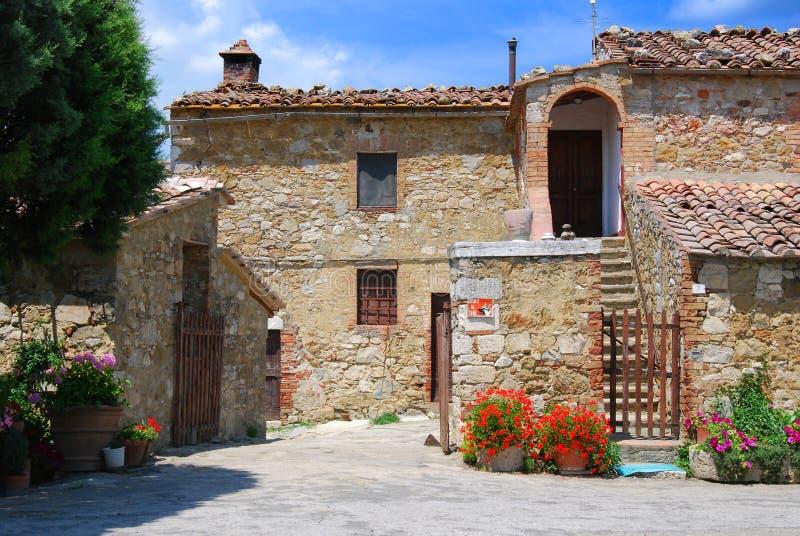 Casa della Toscana fotografie stock libere da diritti