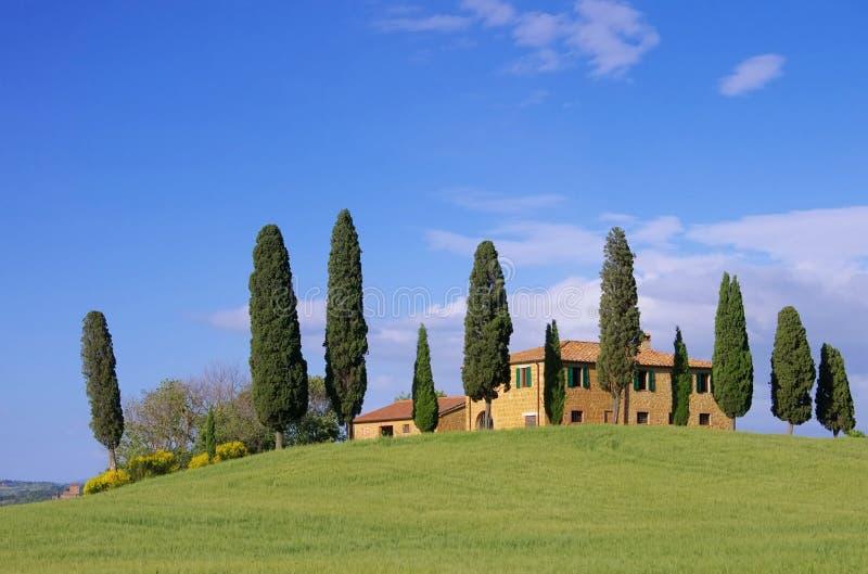 Casa Della Toscana Fotografia Stock Libera da Diritti