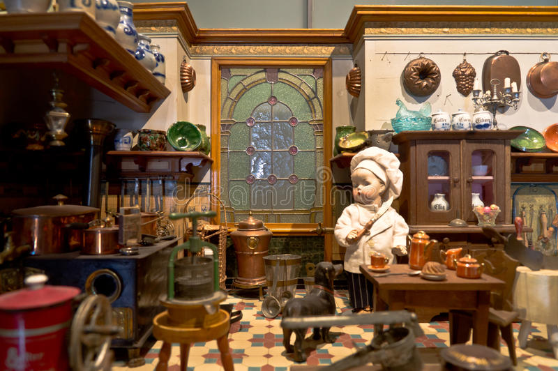 Casa delle bambole fotografia stock