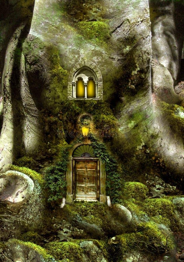 Casa di albero di fantasia