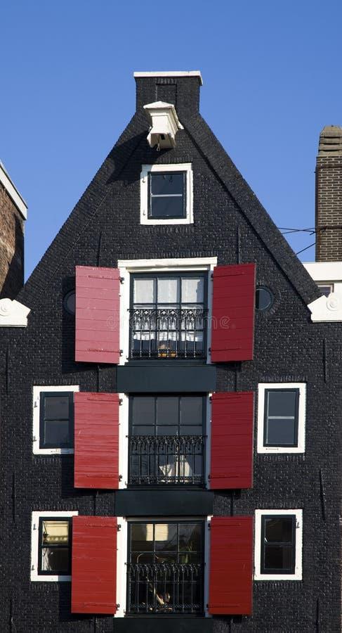 Casa di Amsterdam fotografia stock