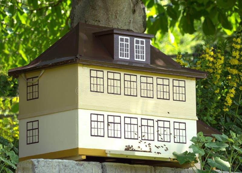 Casa di ape fotografia stock libera da diritti
