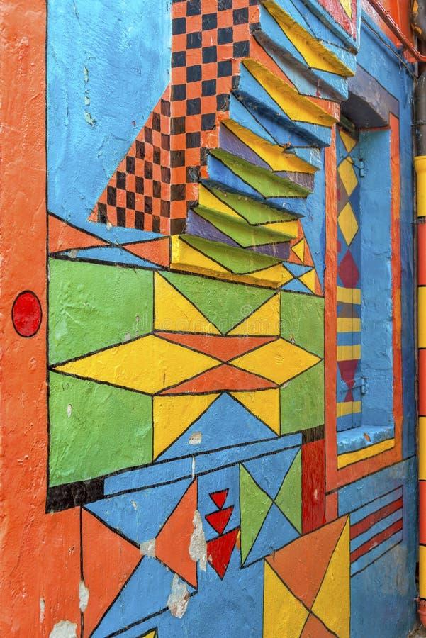 Casa Di Bepi, Burano, Italië royalty-vrije stock afbeeldingen
