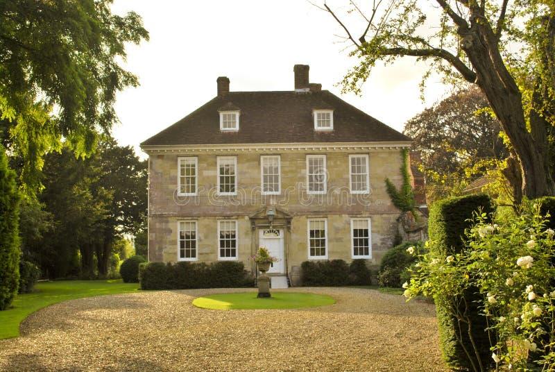 Casa di campagna inglese fotografie stock libere da diritti