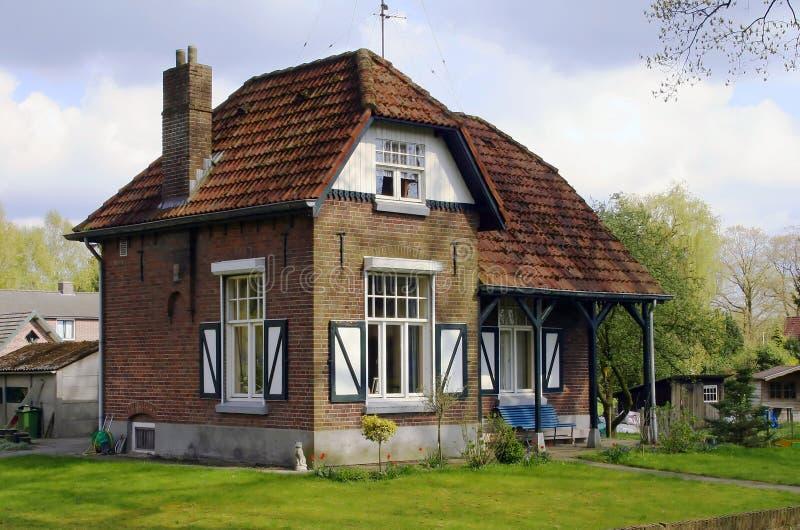 Casa di campagna nel Netherlan fotografie stock