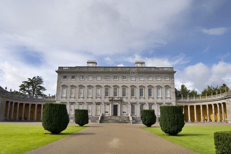Casa di Castletown fotografia stock libera da diritti