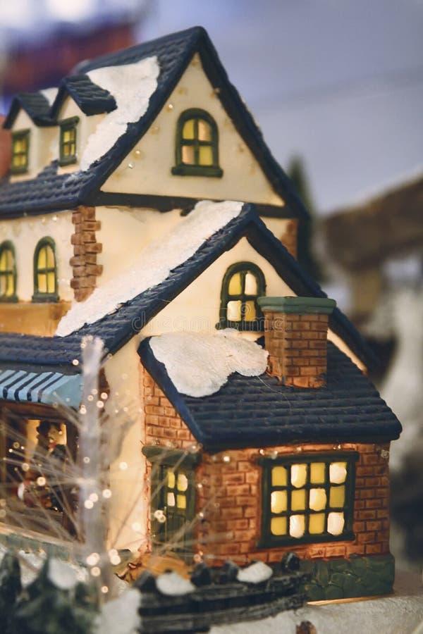 Casa di Chrismas fotografia stock