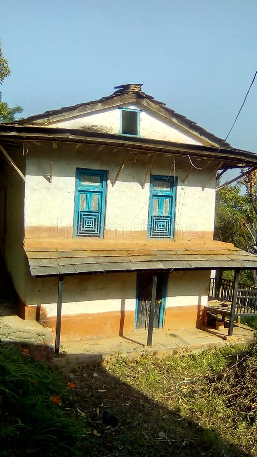 Casa di Conci fotografia stock