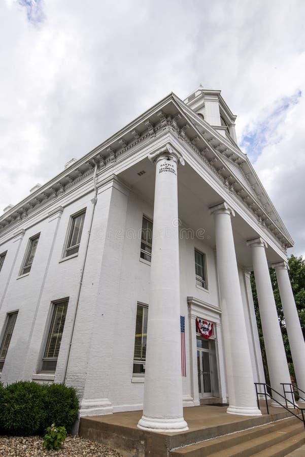 Casa di corte di Lexington Missouri fotografia stock libera da diritti