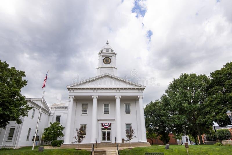 Casa di corte di Lexington Missouri immagine stock libera da diritti