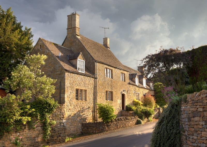 Casa di Cotswold fotografia stock