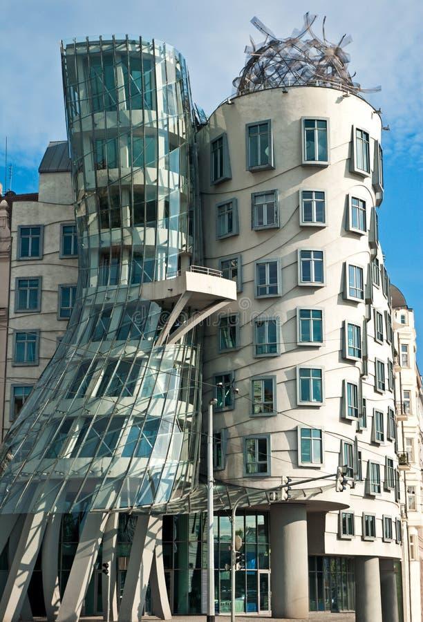 Casa di Dancing a Praga fotografia stock libera da diritti