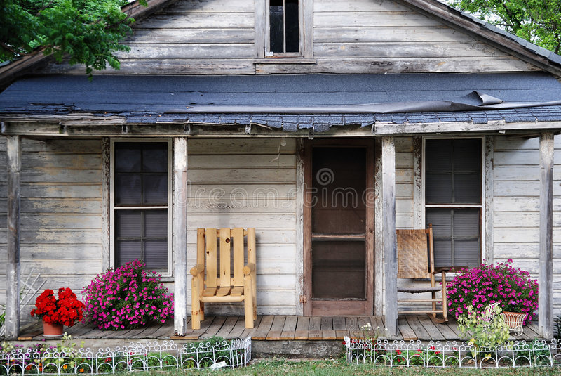 Casa di Delapidated immagini stock libere da diritti