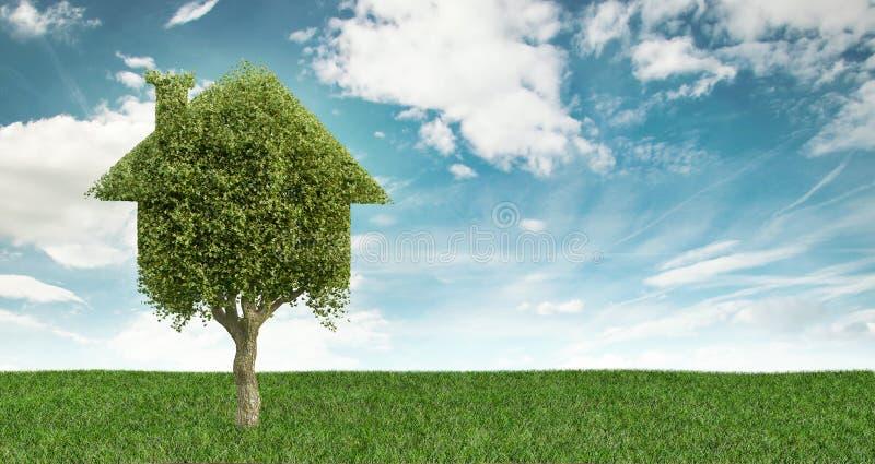 Casa di Eco, investimenti immobiliari royalty illustrazione gratis