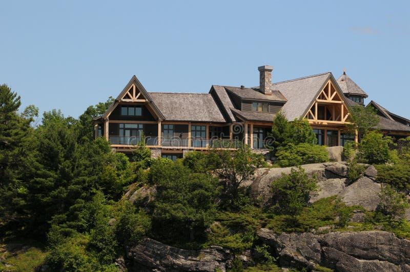 Casa di estate di lusso immagini stock libere da diritti