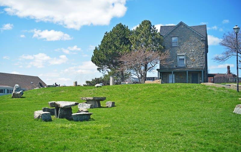 Casa di Fitz Henry Lane fotografia stock libera da diritti