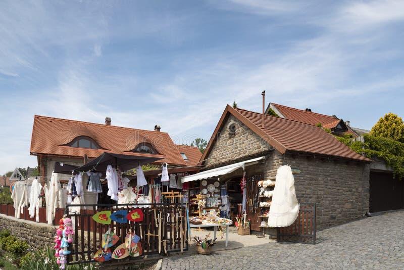 Casa di Folklor in Tihany fotografie stock
