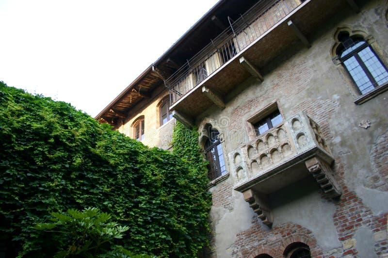 Casa di Giulietta 免版税库存照片