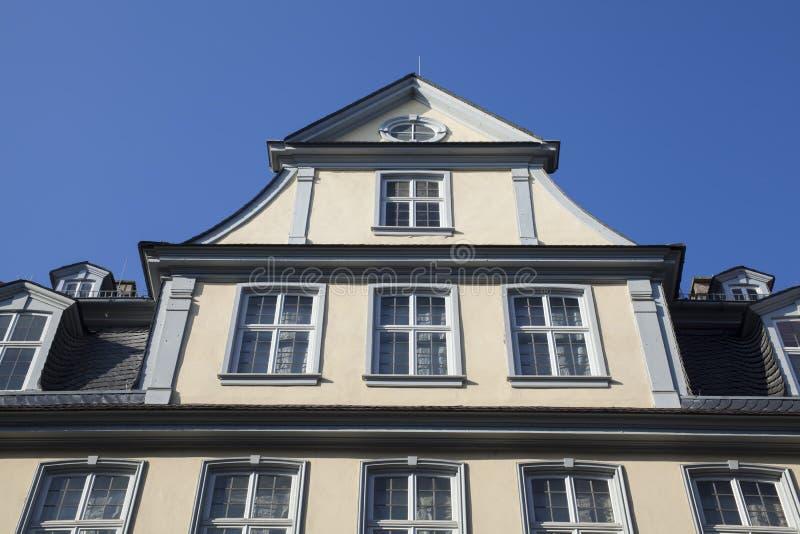 Casa di Goethe a Francoforte immagini stock