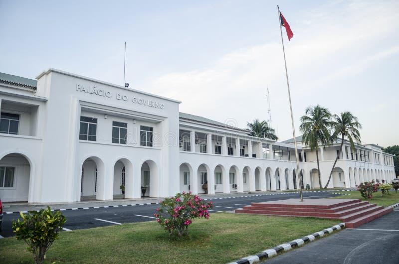Casa di governo a dili Timor Orientale immagine stock libera da diritti