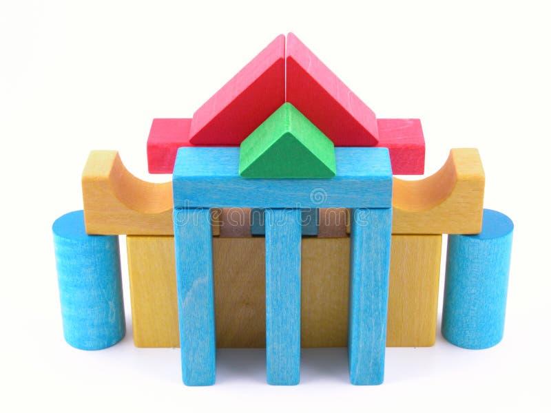 Casa di legno immagine stock