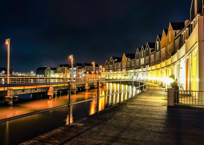 Casa di legno Houten Paesi Bassi fotografie stock libere da diritti