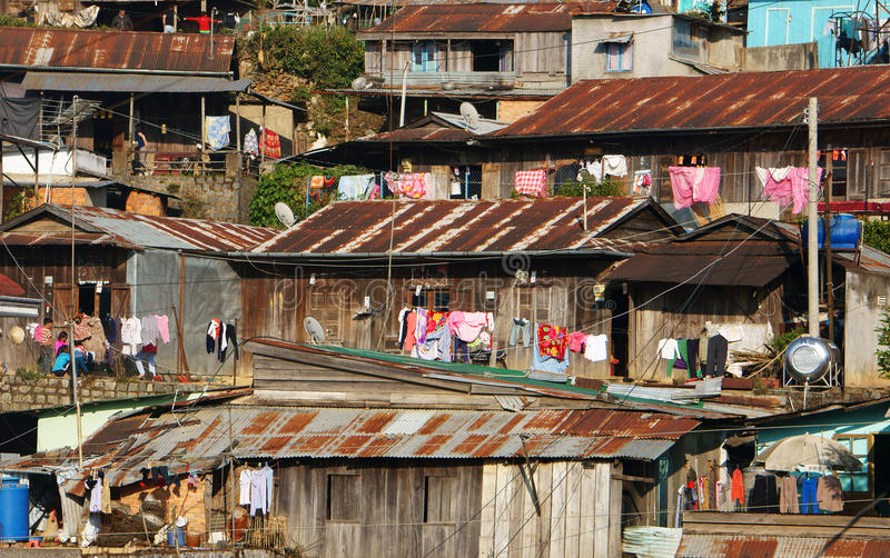 Casa di legno, residenza, Dalat fotografia stock libera da diritti