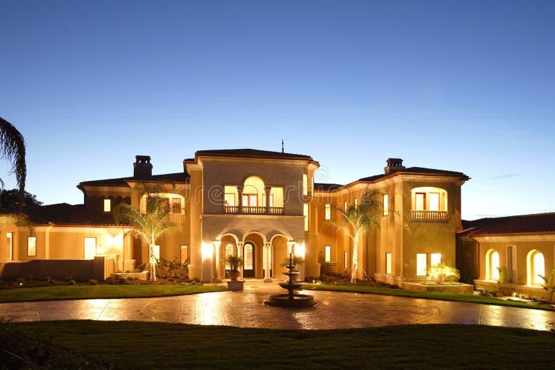 Casa di lusso immagine stock