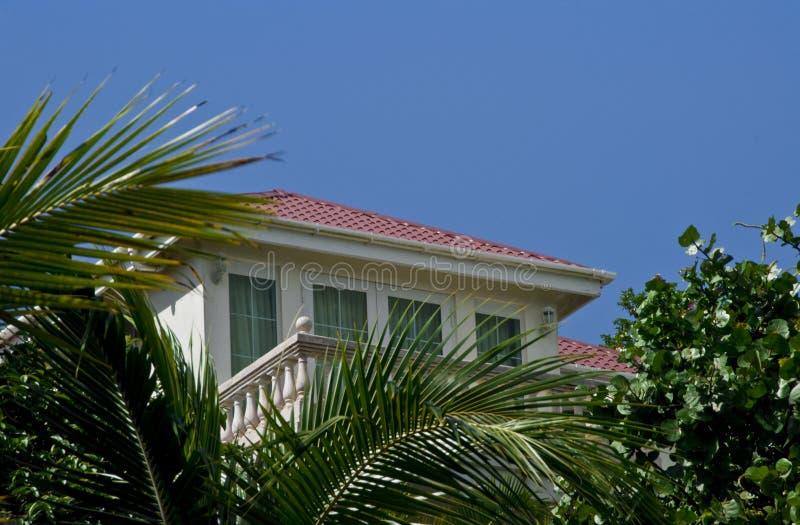 Casa di lusso dell'isola su Tortola BVI immagine stock libera da diritti