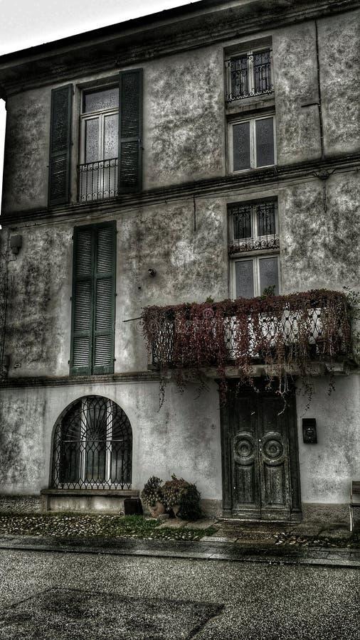 Casa di mistero immagine stock