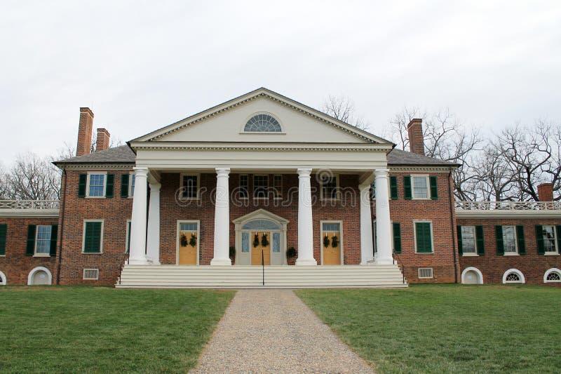 Casa di Montpelier di Madison fotografia stock libera da diritti