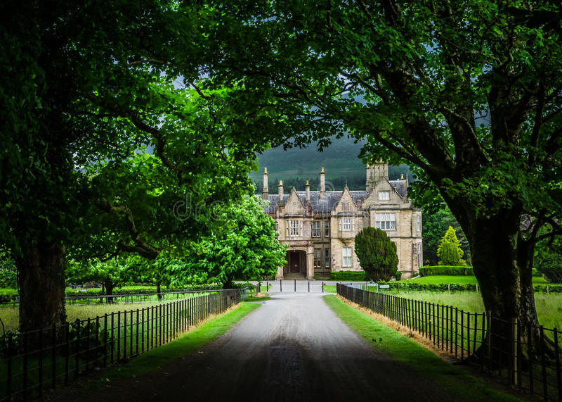 Casa di Muckross fotografie stock