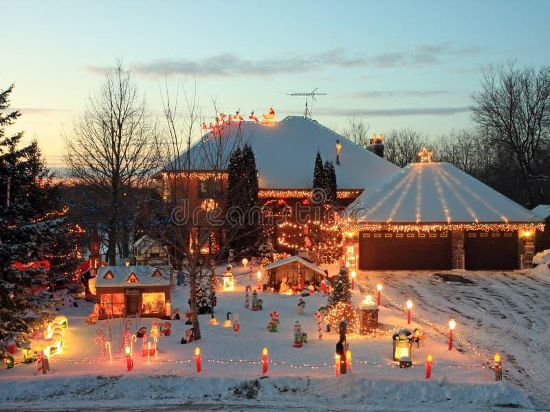 Casa di natale nel Minnesota immagine stock