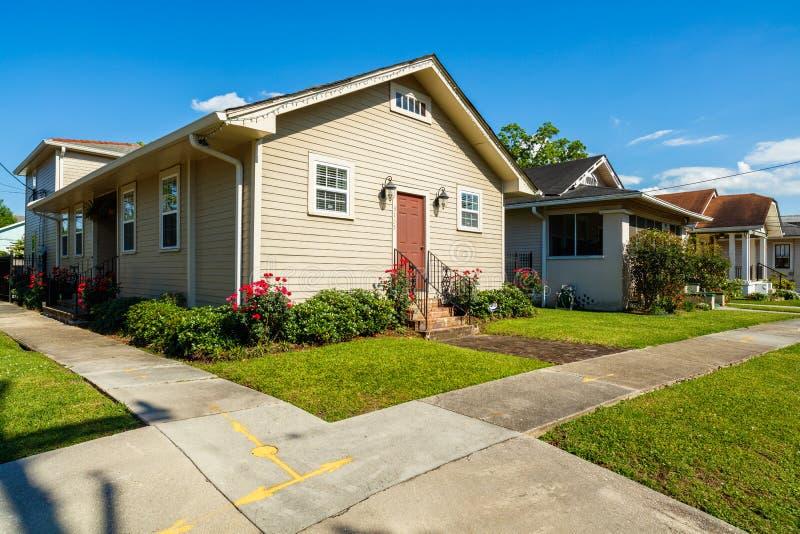Casa di New Orleans fotografia stock