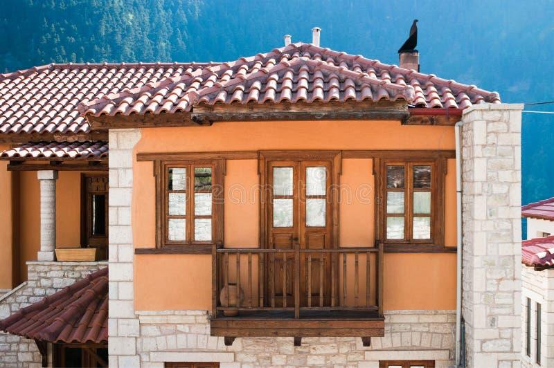 Casa di pietra tradizionale fotografie stock libere da diritti