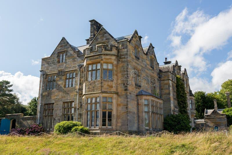 Casa di proprietà terriera del castello di Scotney fotografia stock libera da diritti