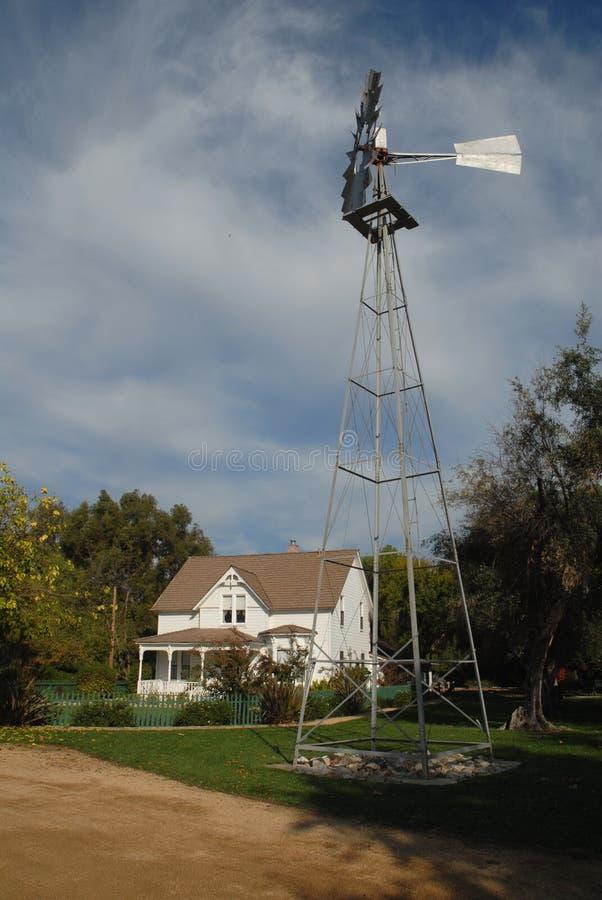 Casa di ranch immagini stock