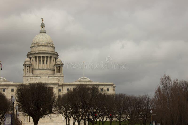 Casa di Rhode Island Capitol immagini stock