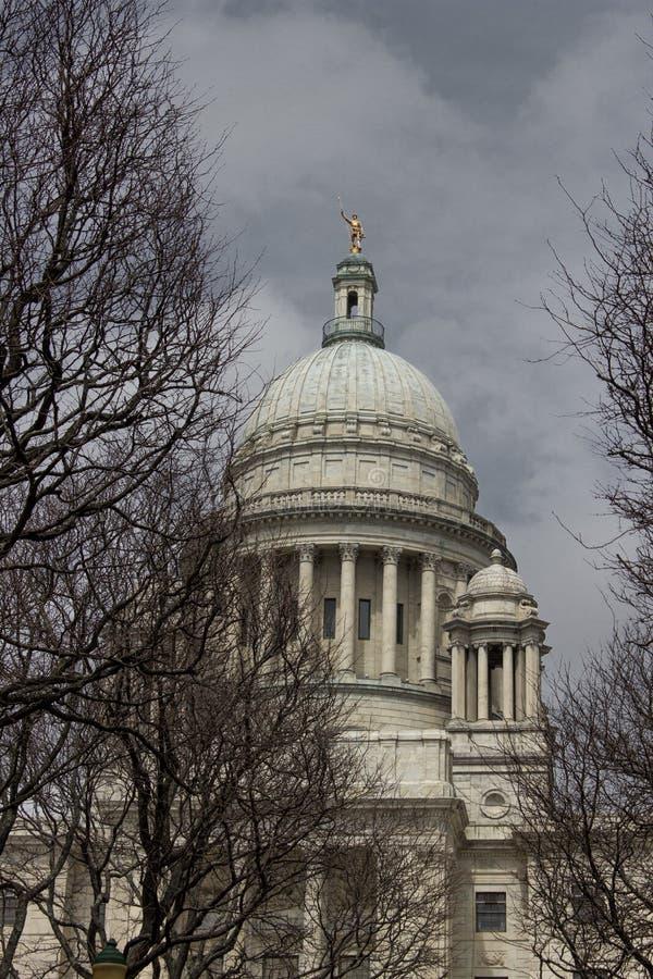 Casa di Rhode Island Capitol fotografia stock libera da diritti
