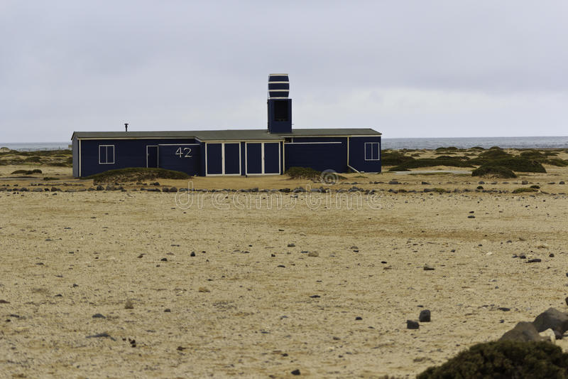 Casa di spiaggia immagine stock