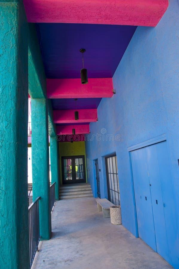 Casa di Tucson Adobe fotografia stock libera da diritti