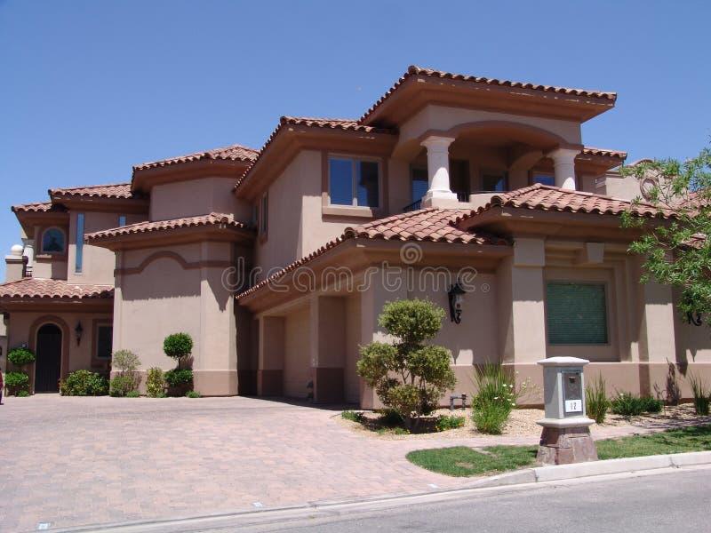 Casa di Vegas immagini stock libere da diritti