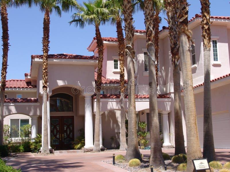 Casa di Vegas fotografia stock