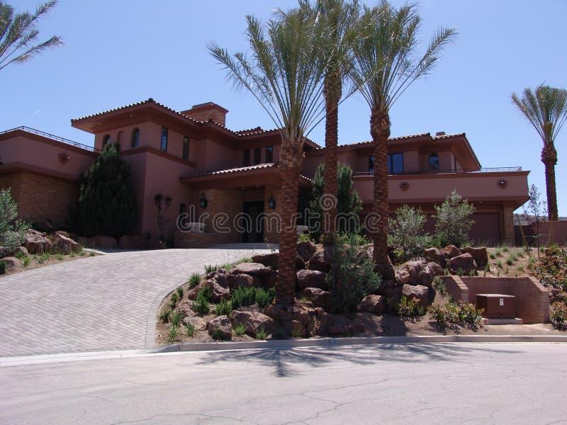 Casa di Vegas fotografie stock libere da diritti
