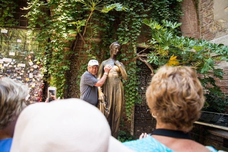 Casa di Verona di Juliet fotografie stock