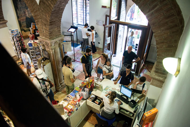 Casa di Verona di Juliet immagini stock