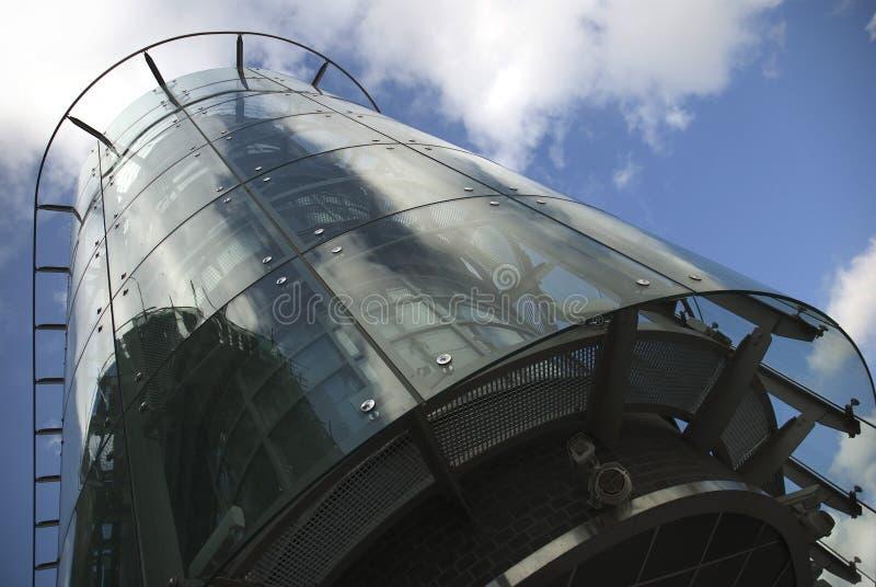 Casa di vetro fotografie stock libere da diritti
