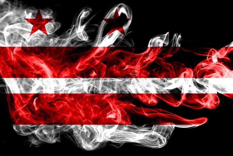 Casa do branco da C Bandeira do fumo da cidade de C, Maryland e Virginia State, Estados Unidos da América foto de stock royalty free