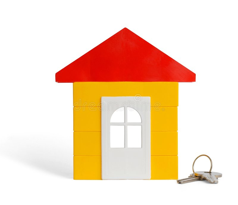 Casa do brinquedo foto de stock royalty free
